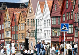 "The old ""Bryggen"" in Bergen"