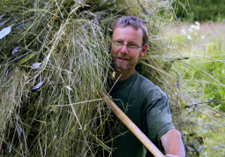 Guus in the hay